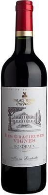 Вино красное сухое «Des Gracieuses Vignes» 2014 г.