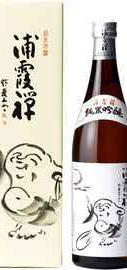 Саке «Urakasumi Zen Junmai Ginjo» в подарочной упаковке