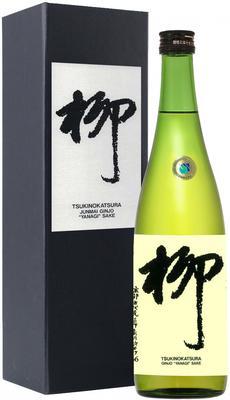 Саке «Tsukinokatsura Yanagi Junmai Ginjo» в подарочной упаковке