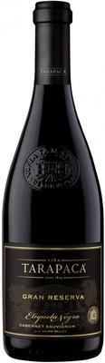 Вино красное сухое «Tarapaca Gran Reserva Cabernet Sauvignon Etiqueta Negra» с защищенным географическим указанием