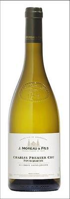 Вино белое сухое «J.Moreau et Fils Chablis Premier Cru Fourchaume» 2015 г.