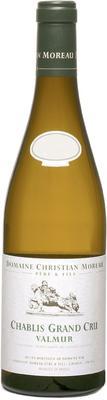 Вино белое сухое «J Moreau et Fils Chablis Grand Cru Valmur, 1.5 л» 2009 г. с защищенным географическим указанием