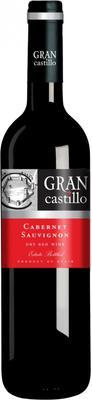 Вино красное сухое «Gran Castillo Cabernet Sauvignon» 2014 г. с защищенным географическим указанием