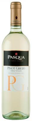 Вино белое полусухое «Pasqua Pinot Grigio» с защищенным географическим указанием