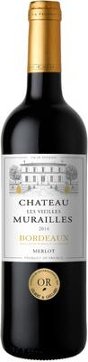 Вино красное сухое «Chateau les Vieilles Murailles» 2014 г.
