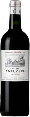 Вино красное сухое «Chateau Cantemerle» 2010 г. с защищенным географическим указанием
