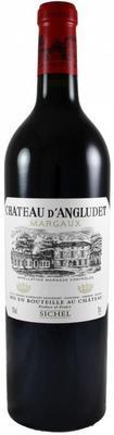 Вино красное сухое «Chateau d'Angludet Margaux» 2007 г. с защищенным географическим указанием