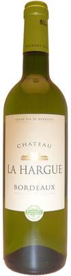 Вино белое сухое «Sichel Chateau La Hargue» 2011 г.