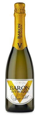 Винный напиток газированный белый полусладкий «Baron de Vinique»