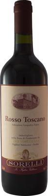 Вино красное сухое «Vino Sorelli Rosso Toscano»