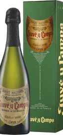Вино игристое белое экстра брют «Cava Reserva de la Familia» 2012 г., в подарочной упаковке