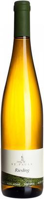 Вино белое сухое «St. Pauls Riesling» 2014 г.