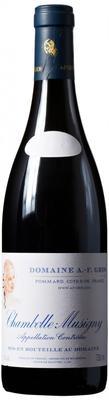 Вино красное сухое «Chambolle-Musigny Domaine A.-F. Gros» 2011 г.