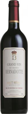 Вино красное сухое «Chateau Bernadotte» 2002 г.