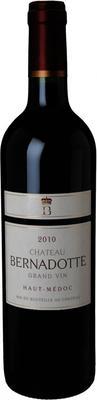 Вино красное сухое «Chateau Bernadotte» 2010 г.