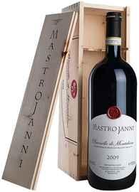 Вино красное сухое «Brunello di Montalcino» 2009 г. в деревянном футляре