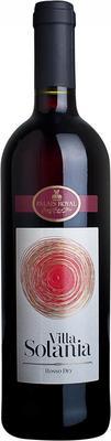 Вино красное сухое «Villa Solania Vino Rosso» 2012 г.