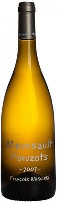 Вино белое сухое «Meursault 1er cru Poruzots» 2007 г.