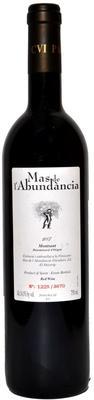 Вино красное сухое «Mas de l'Abundancia» 2007 г.