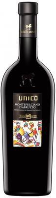 Вино красное полусухое «Unico Montepulciano d'Abruzzo» 2014 г.