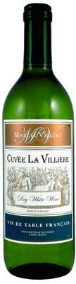 Вино белое сухое  «Cuvee La Villiere»