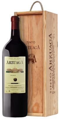 Вино красное сухое «Arzuaga Crianza» 2013 г., в подарочной деревянной упаковке