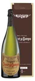 Вино игристое белое экстра брют «Cava Reserva de la Familia» 2013 г., в подарочной упаковке