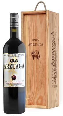 Вино красное сухое «Gran Arzuaga» 2008 г., в подарочной упаковке