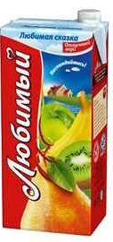 Сок «Любимый Яблоко-Банан Груша-Киви»