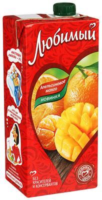Сок «Любимый Апельсин Манго, 1.93 л»