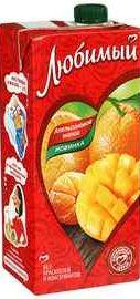 Сок «Любимый Апельсин Манго»