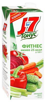 Сок «J7 Тонус Овощной микс, 1 л»