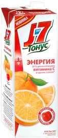 Сок «J7 Тонус Энергия апельсин с экстрактом ацеролы»