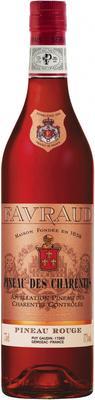 Вино красное сладкое «Favraud Pineau des Charentes»