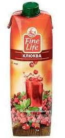 Морс «Fine Life Клюквенный»