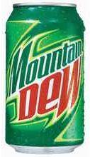 Вода газированная «Mountain Dew»
