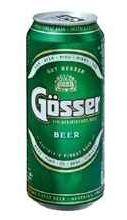 Пиво «Gosser» В жестяной банке