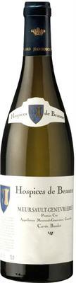 Вино белое сухое «Aegerter Hospices de Beaune Meursault-Genevrieres Premier Cru» 2013 г. с защищенным географическим указанием