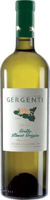 Вино белое сухое «Gergenti Grillo Pinot Grigio Terre Siciliane» 2014 г.