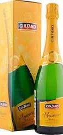 Вино игристое белое брют «Cinzano Spumante Prosecco» в подарочной упаковке