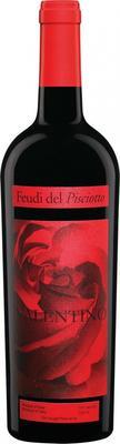 Вино красное сухое «Feudi del Pisciotto Valentino Merlot» 2013 г.