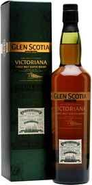 Виски шотландский «Glen Scotia Victoriana» в подарочной упаковке