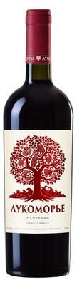 Вино красное полусладкое  «Лукоморье Саперави»
