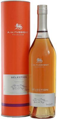 Коньяк французский «A. de Fussigny Selection» в тубе
