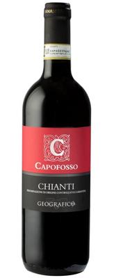 Вино красное сухое «Chianti Capofosso» 2015 г.