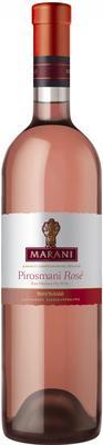 Вино розовое полусухое «Marani Pirosmani Rose»