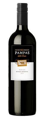 Вино красное сухое «Pampas del Sur Expressions Merlot» 2012 г.