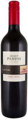 Вино красное сухое «Pampas del Sur Select Syrah Malbec»