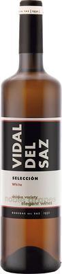 Вино белое сухое «Vidal Del Saz Seleccion white» 2012 г.