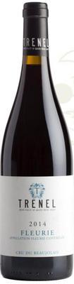 Вино красное сухое «Fleurie Trenel» 2014 г.